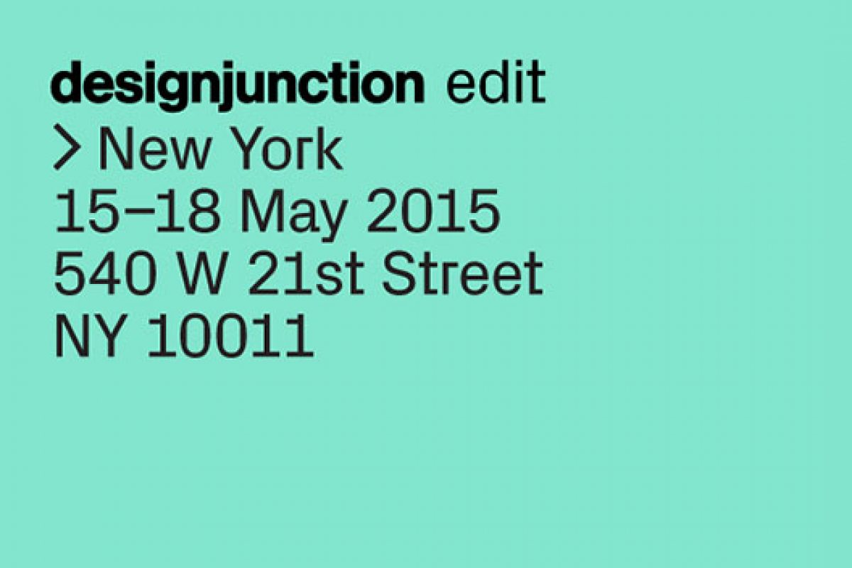 designjunction edit New York burst into the NYCxDESIGN 2015 with its global design