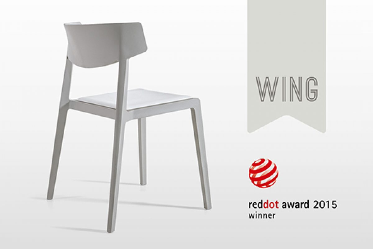 Design excellence of the Red Dot Design awarded to Wing, designed by Ramos&Bassols for Actiu