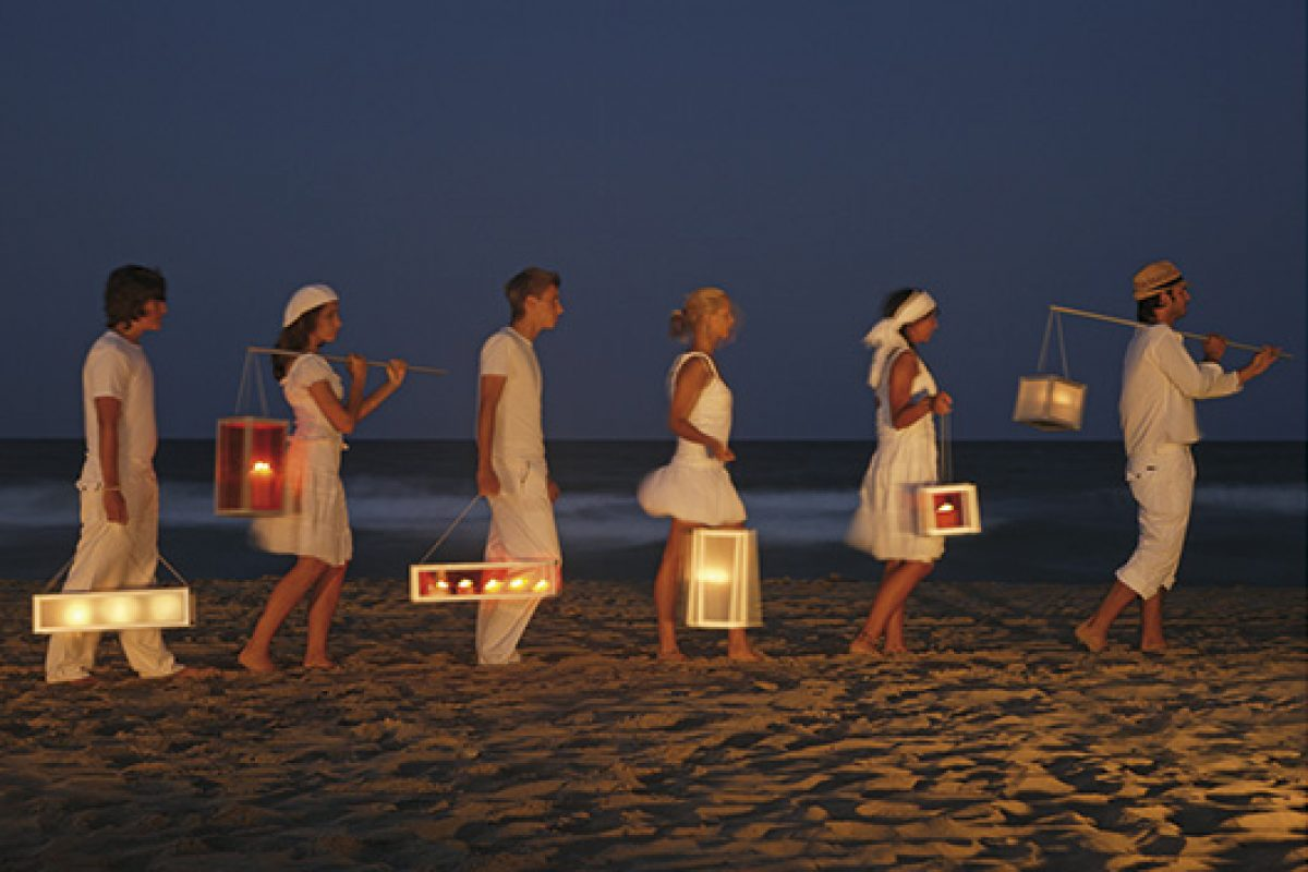 Brighten up your summer nights with lanterns by GandiaBlasco. Magical Nights, light and design