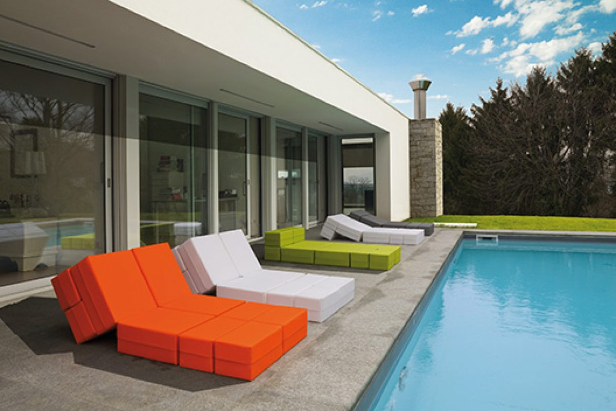 Milano Bedding presents its outdoor collections. Innovative, functional and design solutions