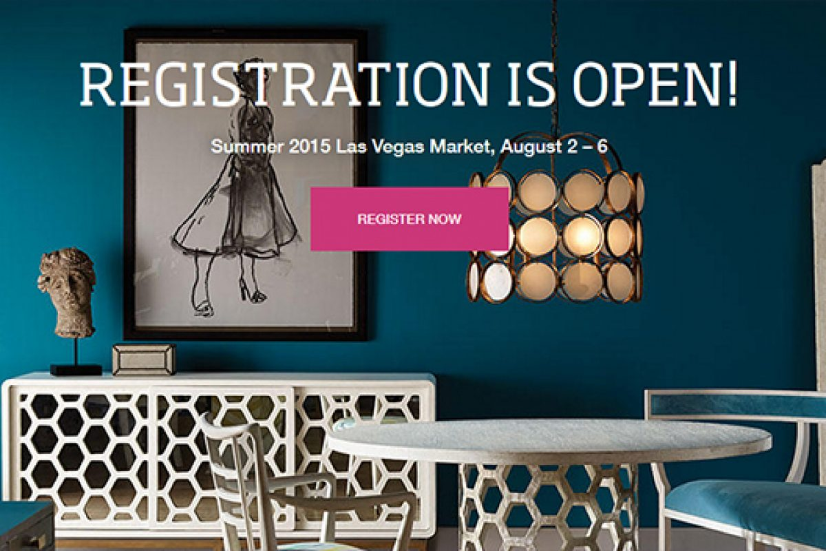 Registration is Open for Summer 2015 Las Vegas Market