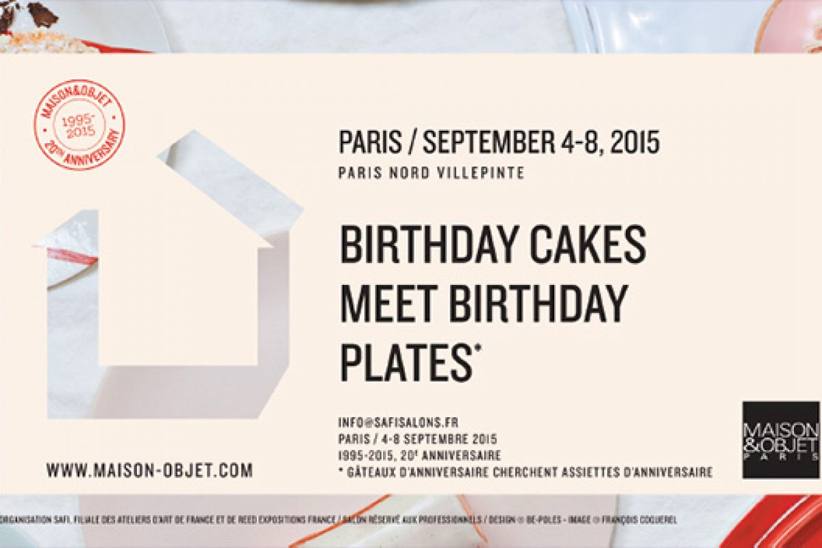 Maison&Objet Paris unveils a new floor plan for September 2015 edition