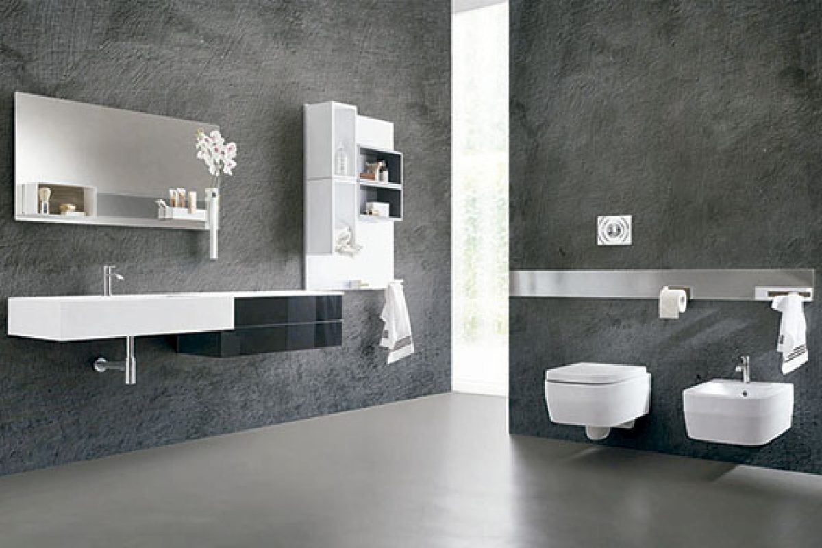 Magnetika, a new way of furnishing your bathroom with magnetic solutions designed by Ferruccio Tasinato for Ronda Design