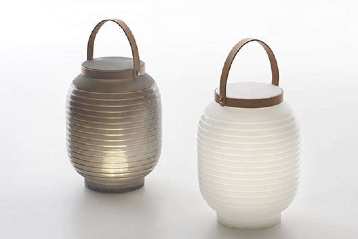 Serralunga presents rechargeable and portable LED lanterns for summer, designed by Mangiarotti + Ravina