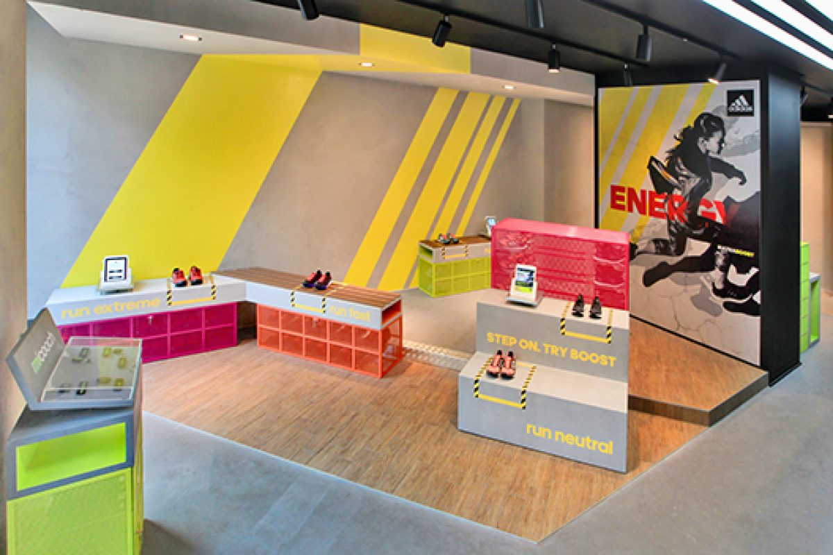 adidas Runbase Milano: an unique kind of running experience. New concept store designed by DINN!