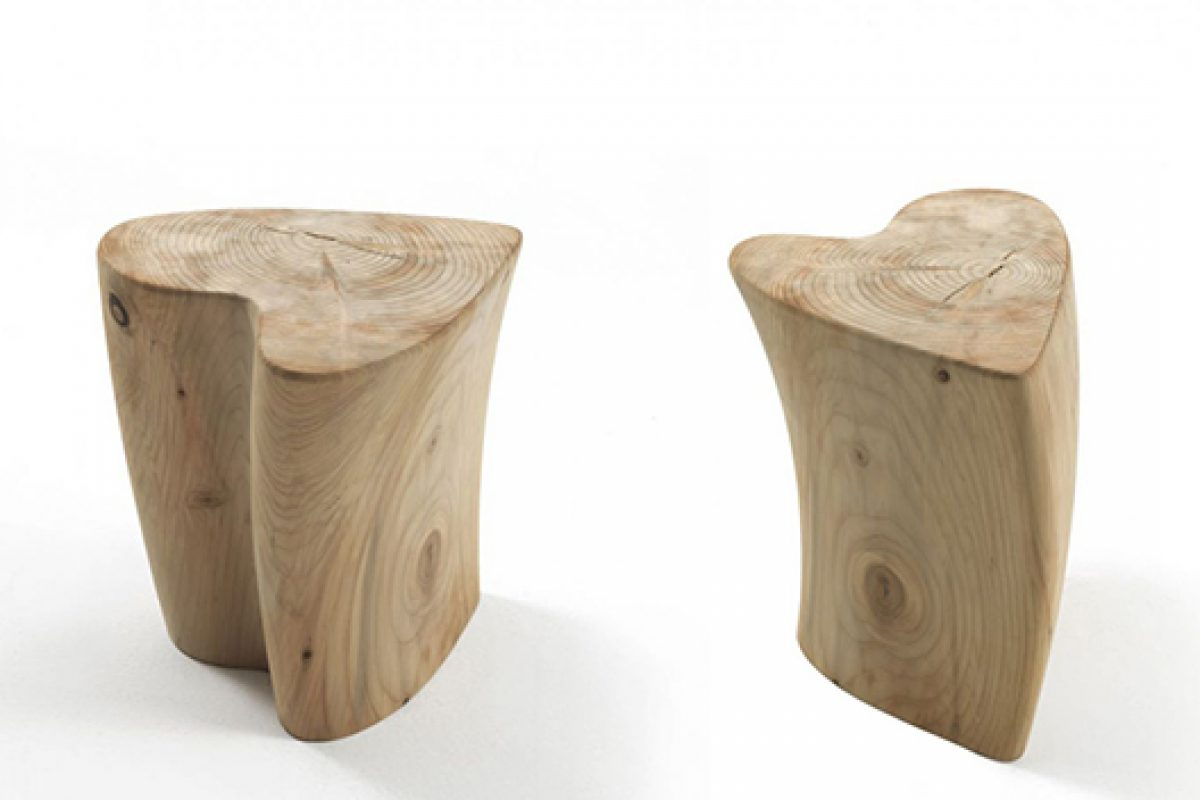 New iconic stool by Veneziano+Team for Riva 1920. All you need is One Love