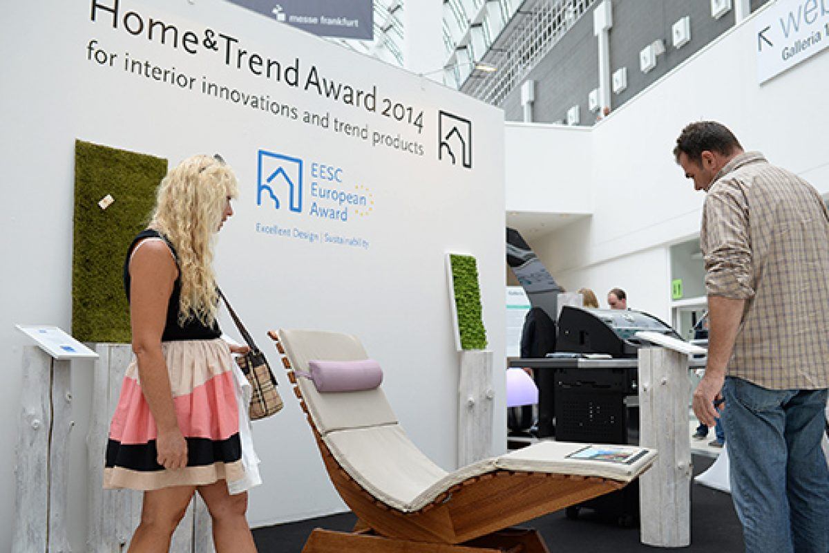 Tendence 2015: Home&Trend Award for innovative, trend-oriented and sustainable products