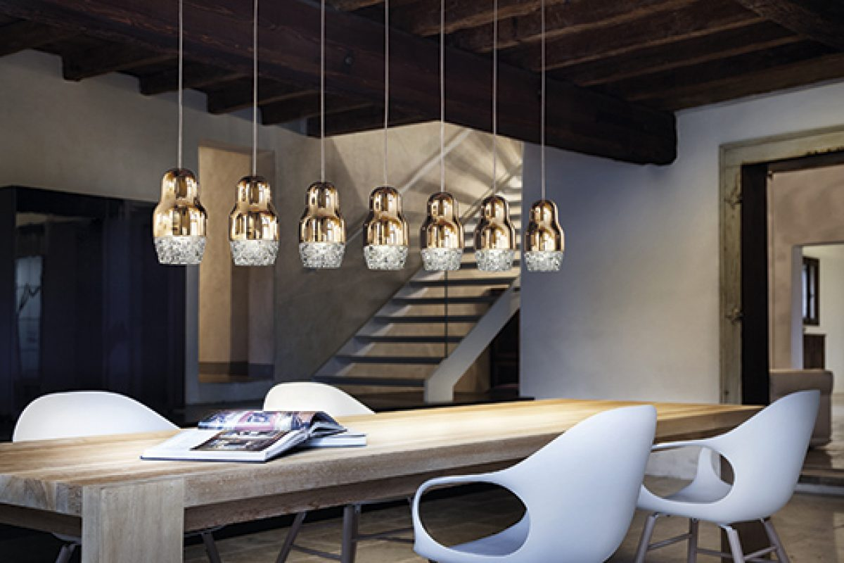 Discover the concept of Fedora lamp in the dialogue between the designer, Dima Loginoff and Axo Light Art Director, Lorenzo Truant