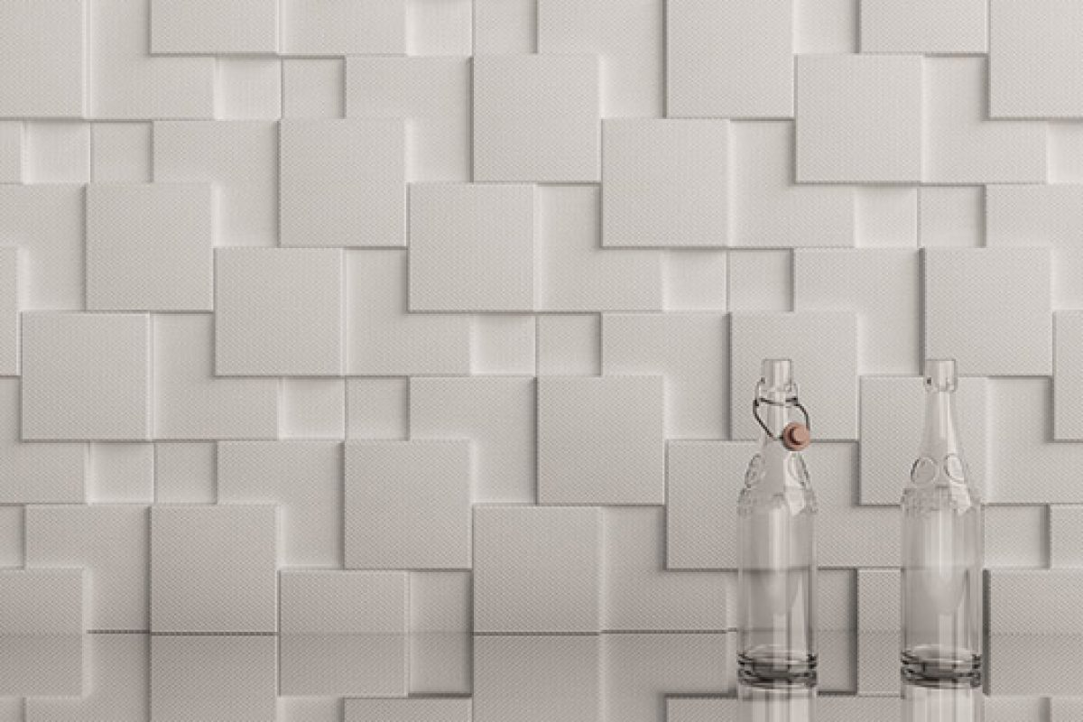 Dsignio studio designs three-dimensional wall covering Core for Harmony-Peronda