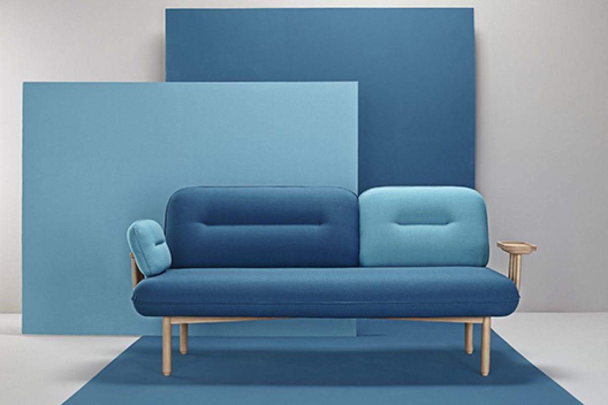 Cosmo, the chameleon couch designed by LaSelva Studio for Missana