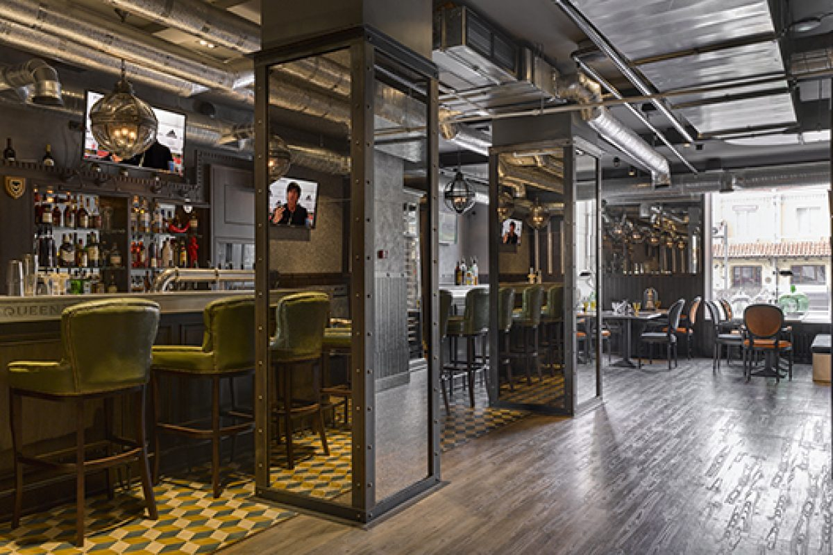 Back in the USSR: Oleg Klodt transforms a Stalinist-era Moscow building into an English Gastropub