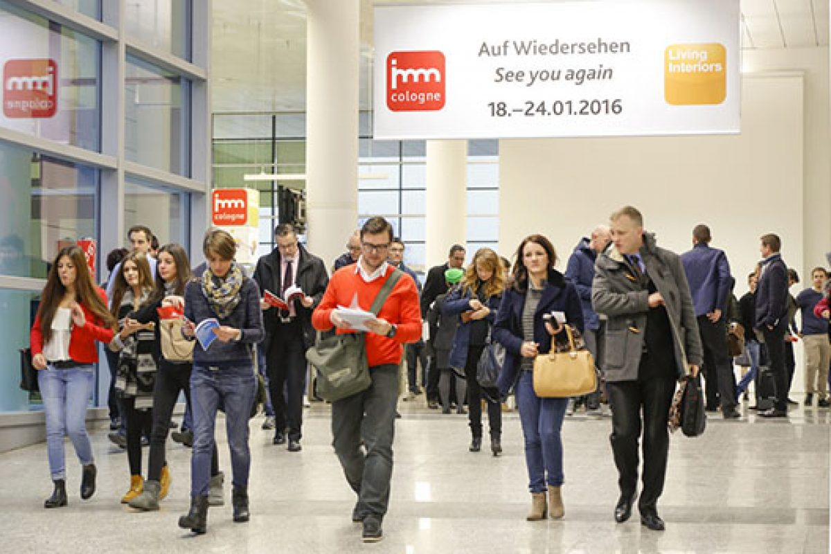 Industry is looking forward to imm cologne 2016 recorded a high number of registrations