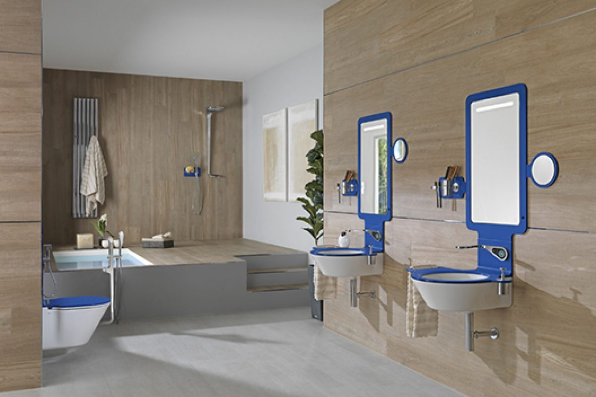 Noken presents MOOD, a new bathroom concept designed by Rogers Stirk Harbour + Partners and Luis Vidal + Architects
