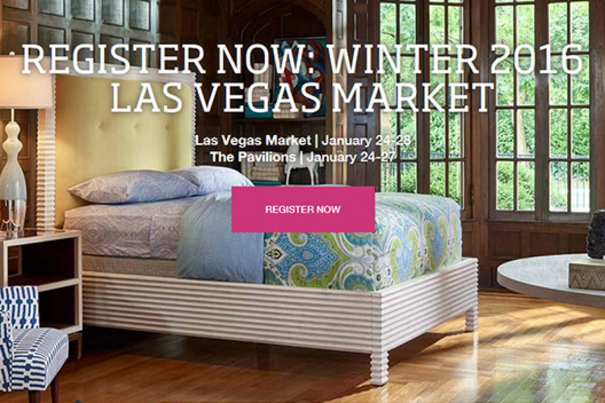 Online Registration is Open for Winter 2016 Las Vegas Market