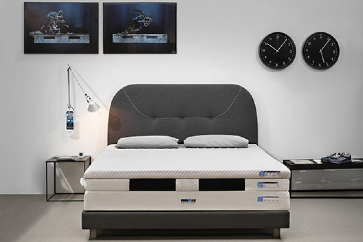 Ironman 'Active recovery equipment' T24.7®. Train while you dream with this mattress