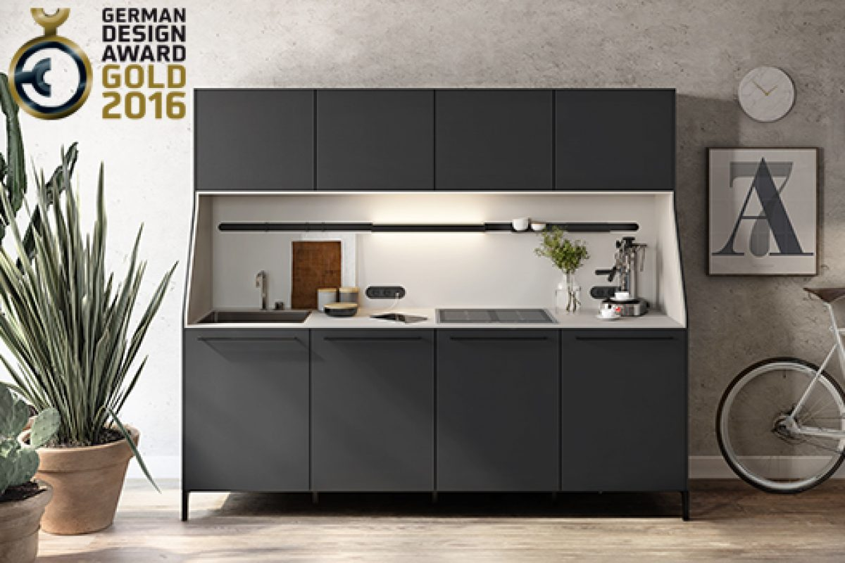 SieMatic 29 receives the German Design Awards 2016 in Gold, the reinterpretation of the traditional kitchen sideboard