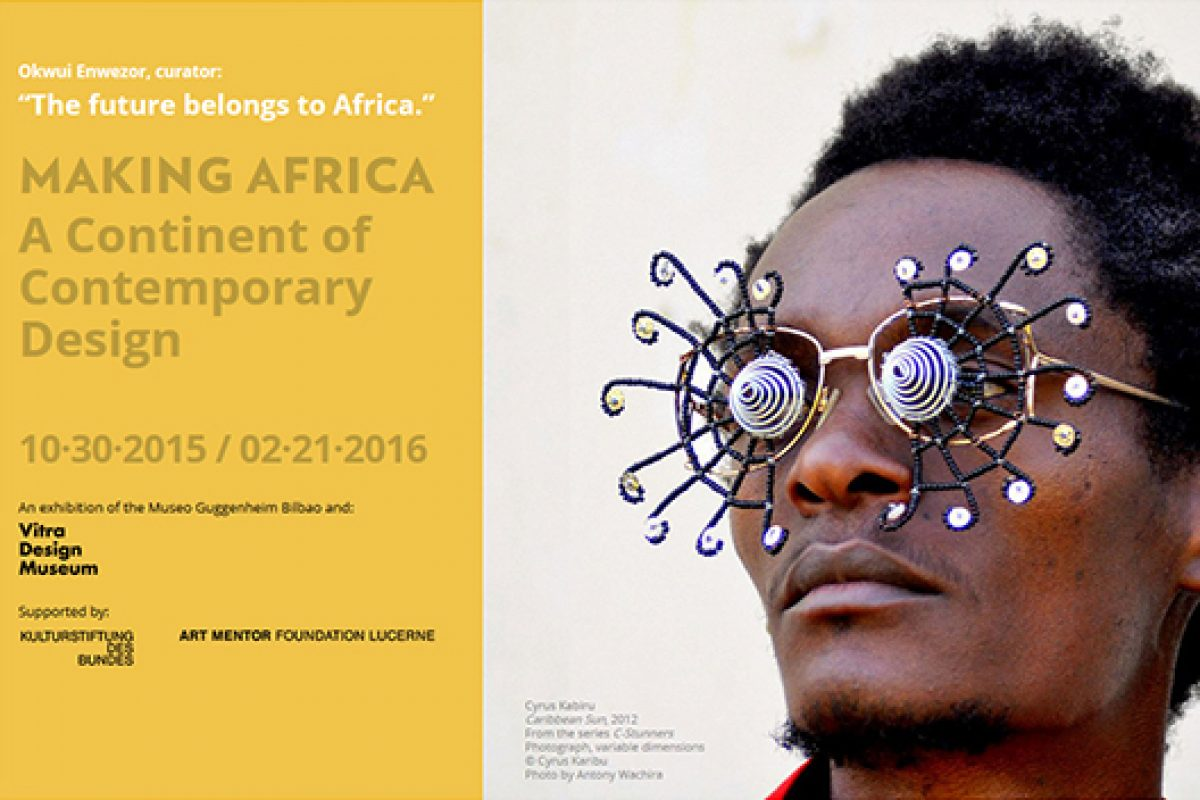 Guggenheim Bilbao and Vitra Design Museum present the exhibition Making Africa – A Continent of Contemporary Design