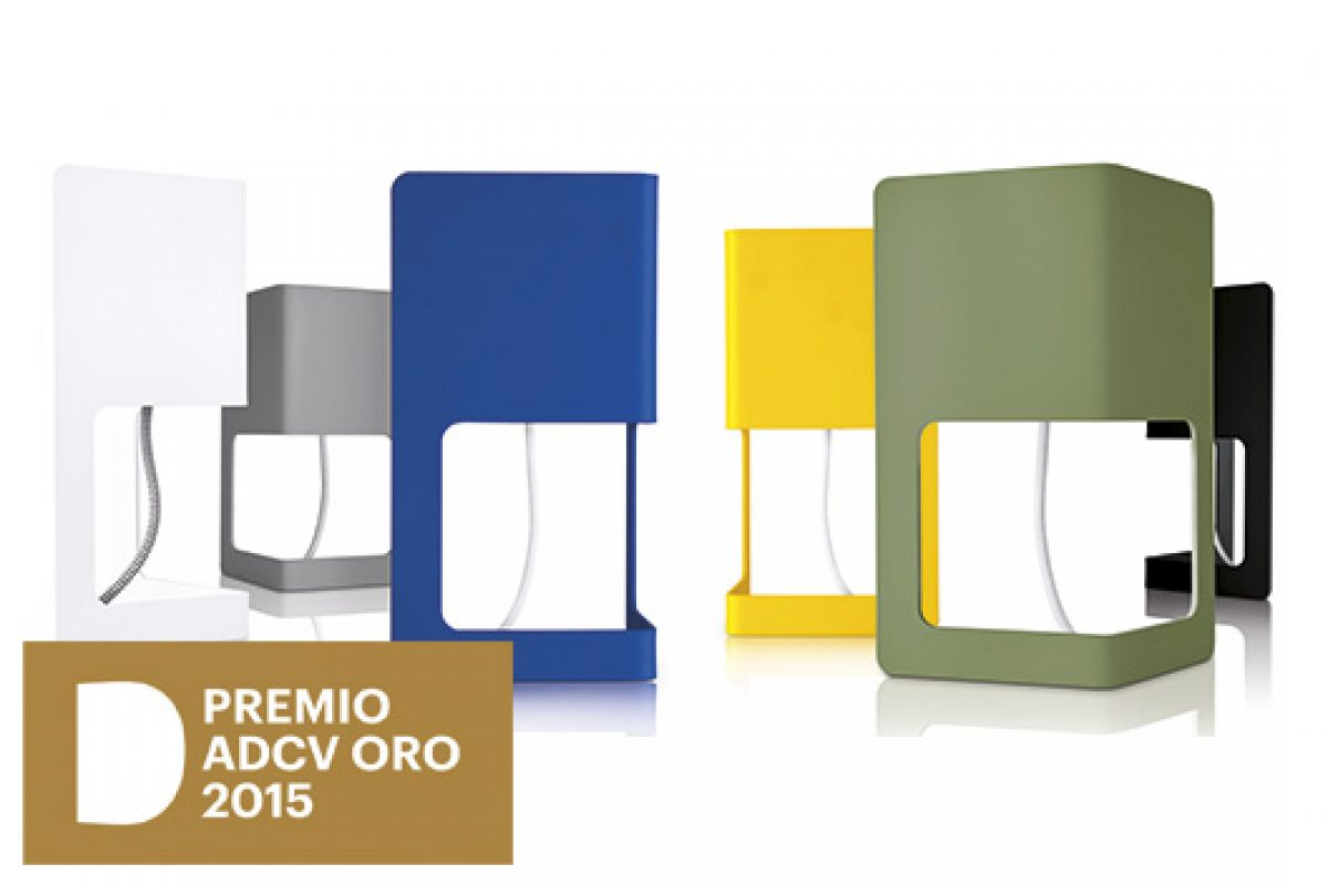 Mínima, the lamp designed by Nacho Timón for Massmi iluminación, awarded in Gold at the ADCV Awards 2015