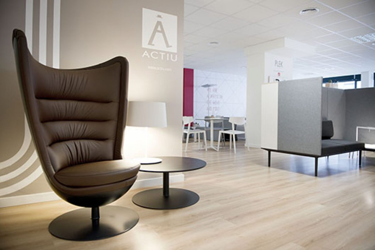 Showroom Actiu Barcelona: a place where product, work and design work hand-in-hand
