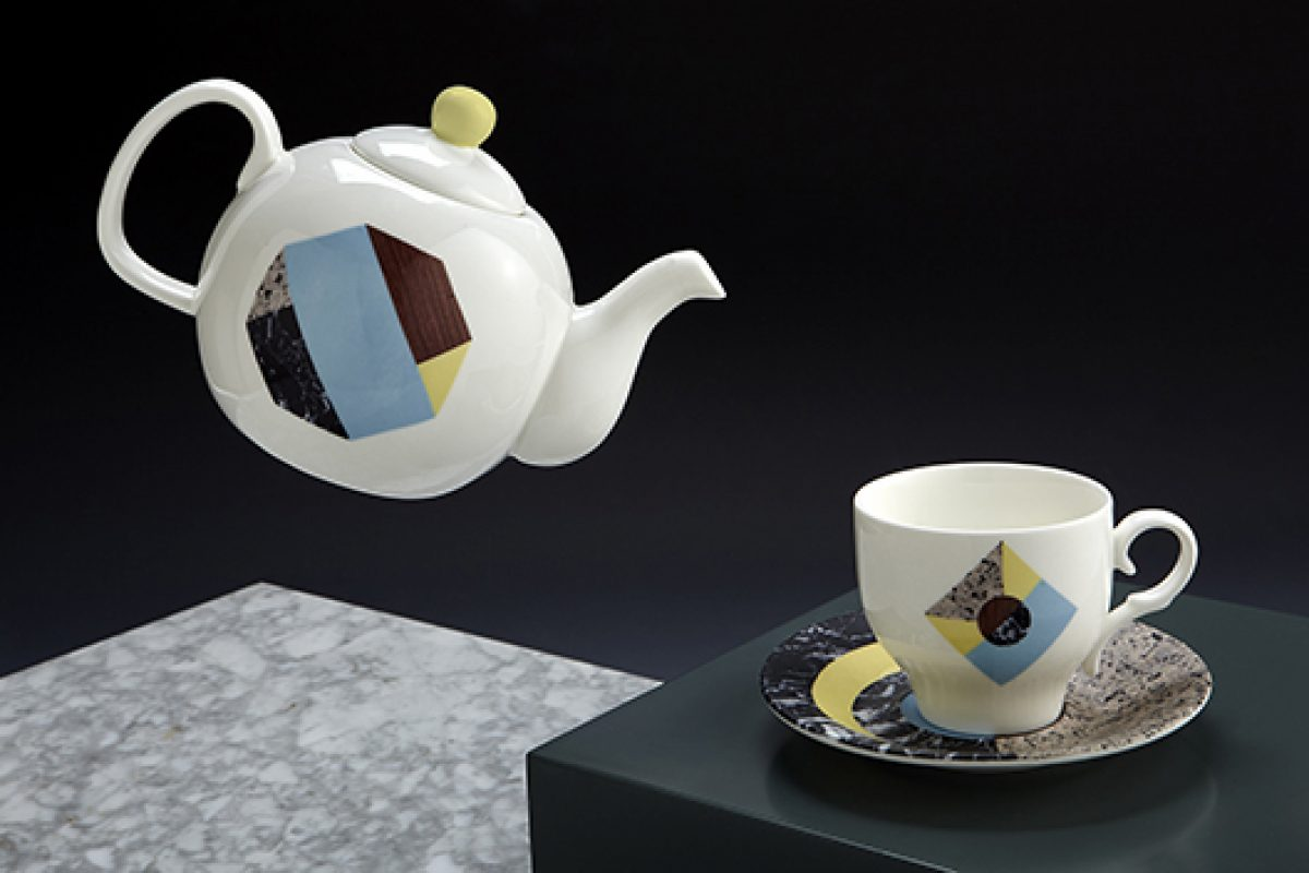 Nueve Studio designs the new concept for the Porcelanas La Cija tea sets collections