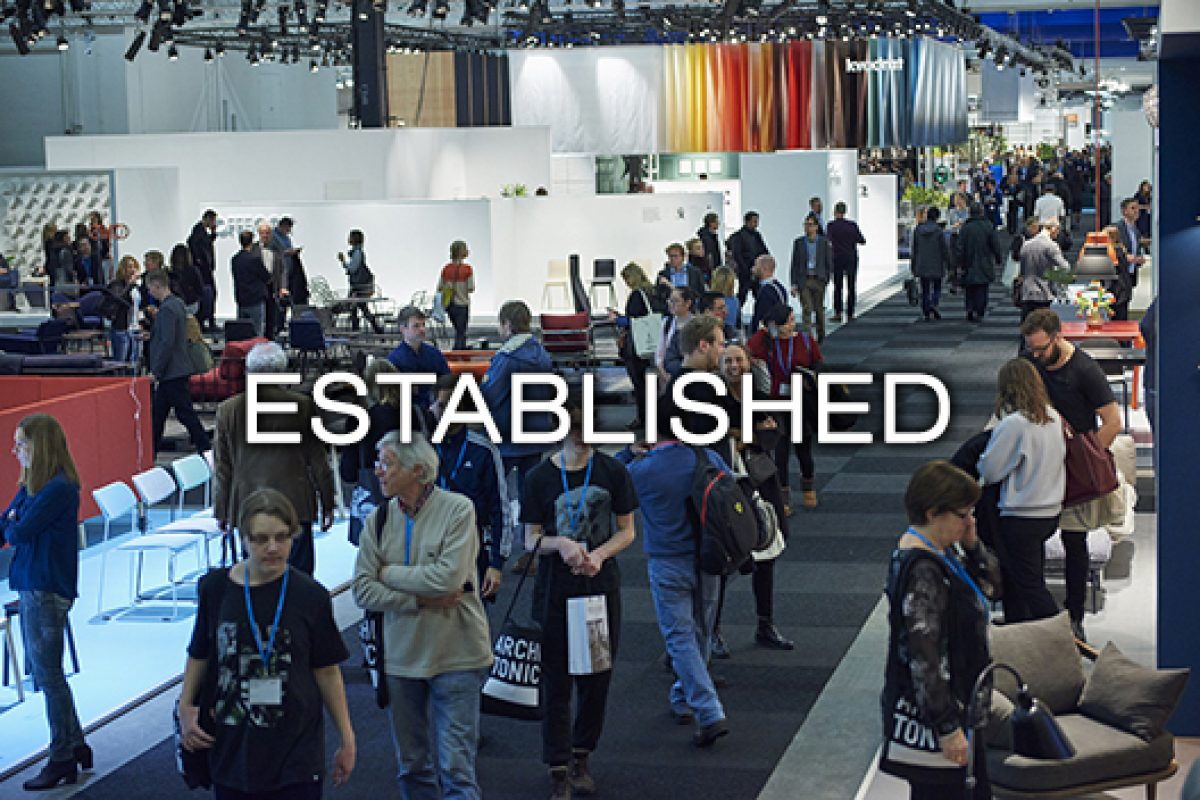 Established, a new small-scale production zone at Stockholm Furniture & Light Fair 2016