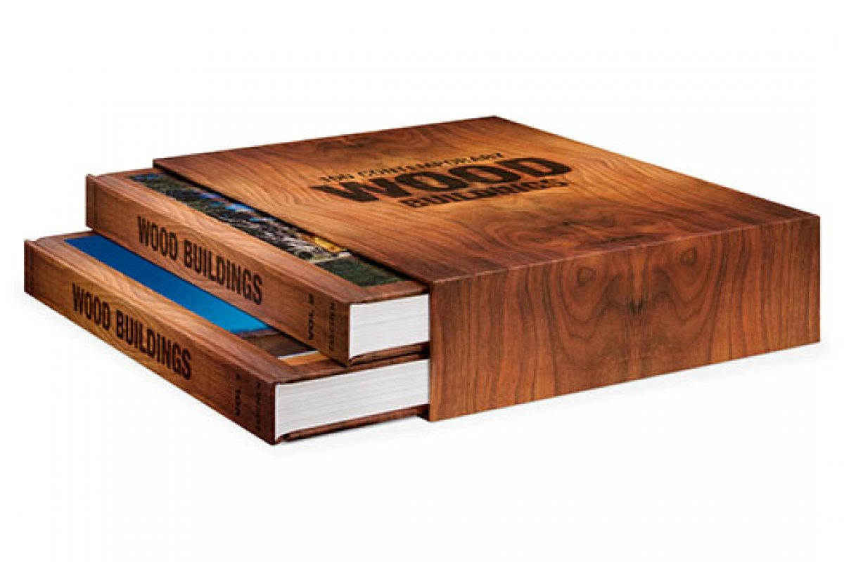 Timberland. Taschen publishes a collection of 100 wooden structures of the 21st century
