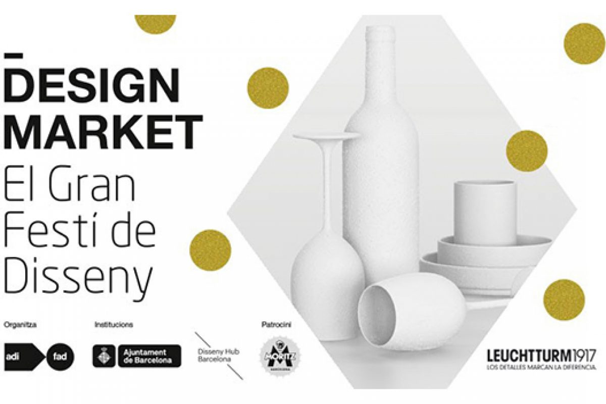 The DesignMarket by ADI-FAD is back!  On 18, 19 and 20 December at the Design Hub Barcelona