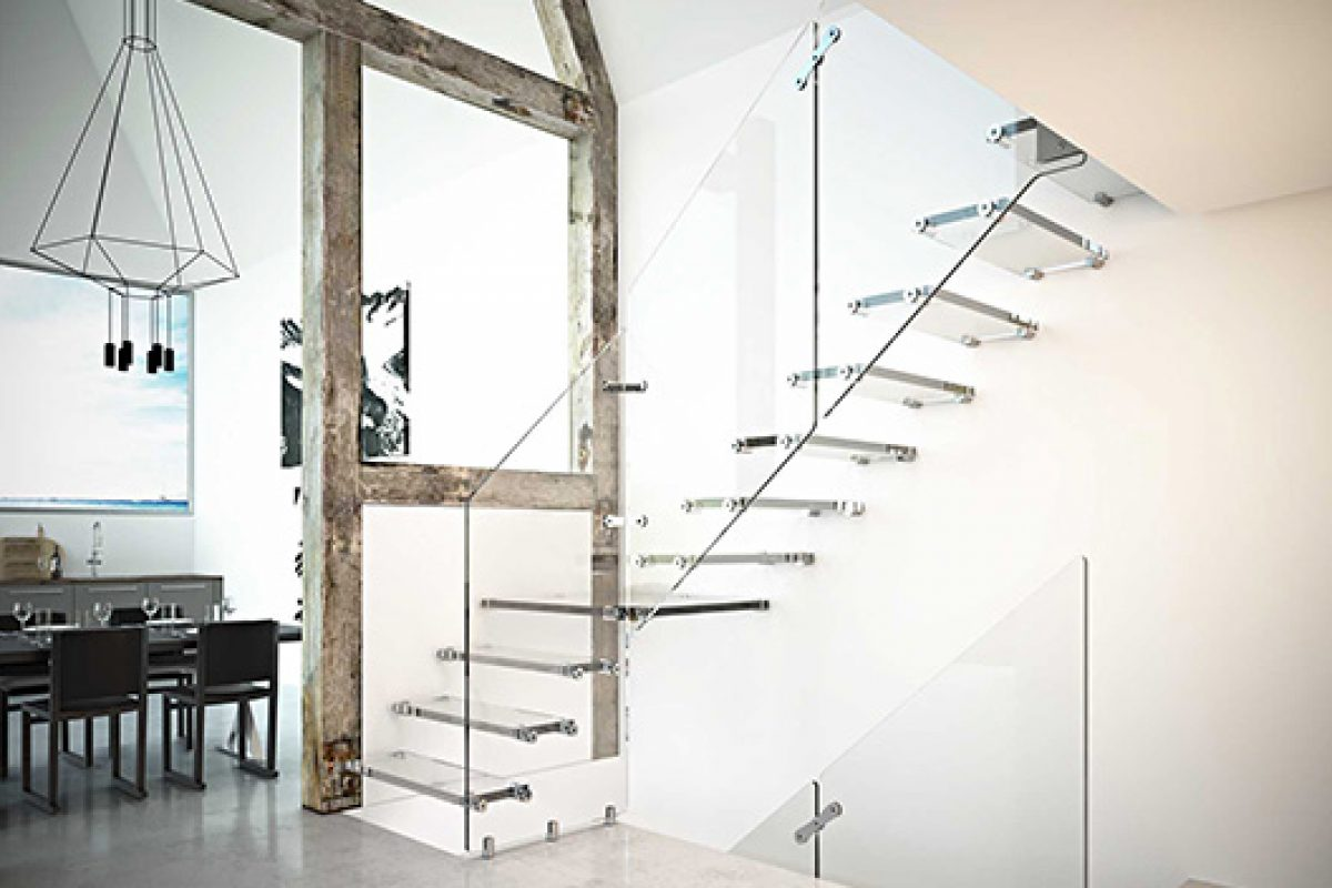 Rintal innovative materials in the new proposals of design stairs