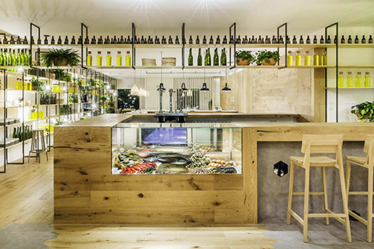 Zooco Studio designs Atrapallada in Madrid. So are the seafood restaurants of XXI century