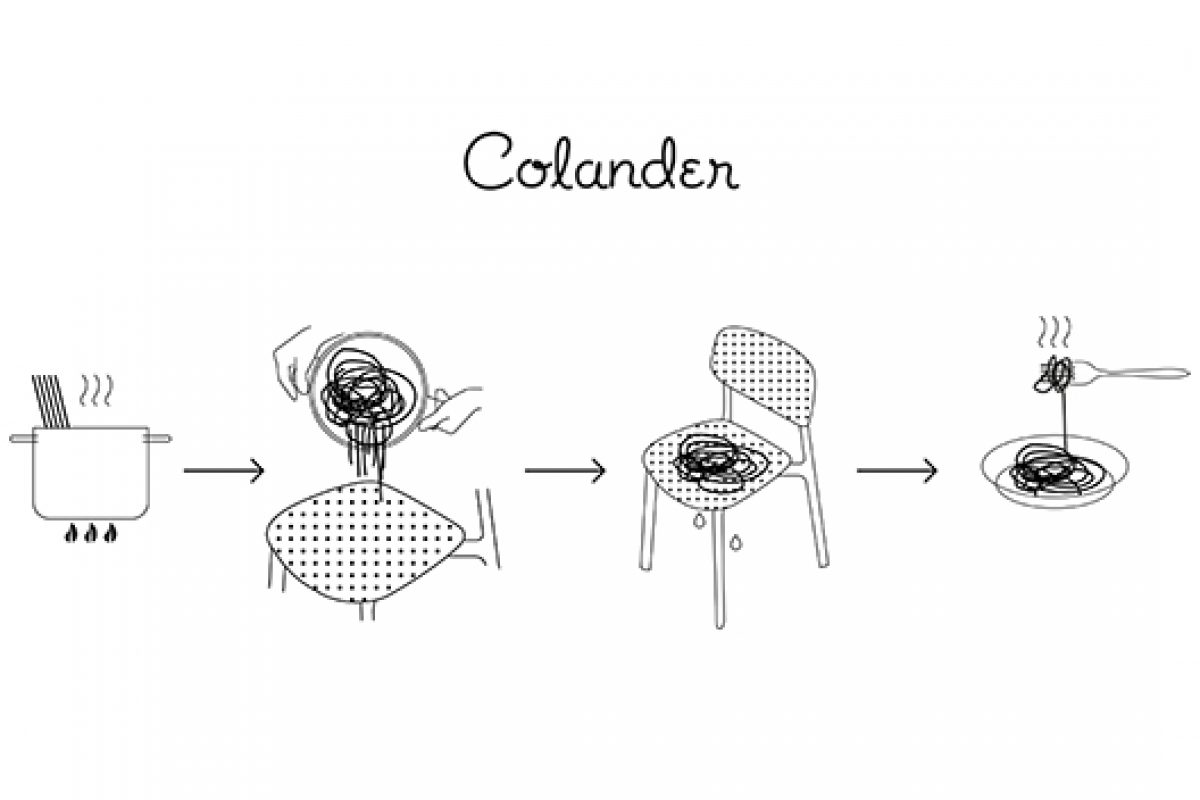Colander, chair by Patrick Norguet for Kristalia, protagonist at Design Post Cologne and at Maison&Objet Paris