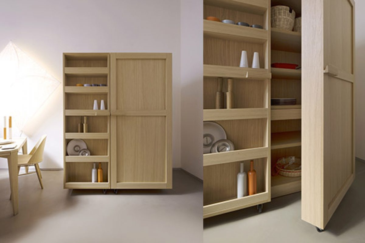 Kitchen cabinet of Key designed by Benedini Associati. Its most sustainable facet