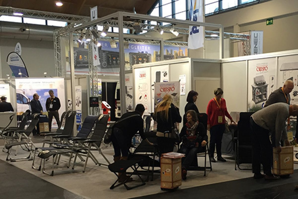 Crespo displays its outdoor furniture novelties at Movera infoshow in Germany