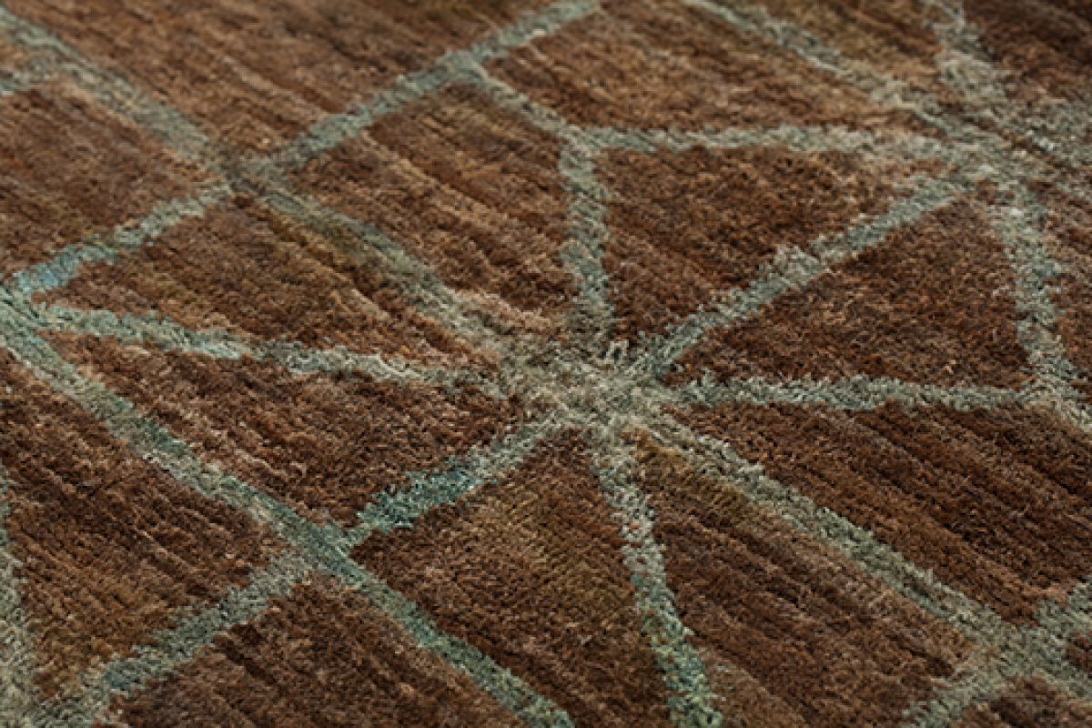 Waterkeyn, the rug by GAN, result of the expertise and knowledge travelling the world