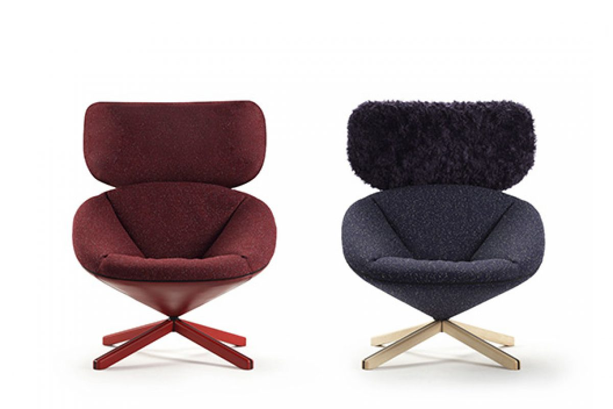 New lounge chair Tortuga, an object of desire designed by Nadadora for Sancal