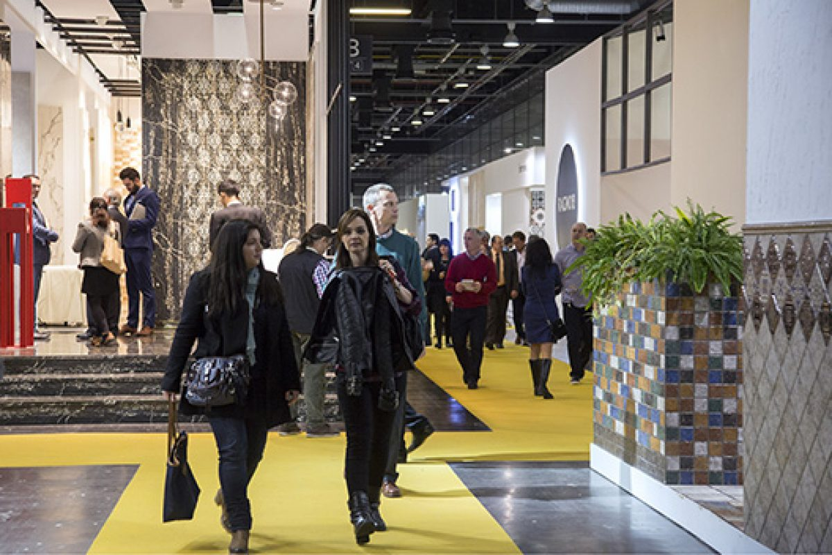 Another Cevisama record-breaking edition marked by  the highest number ever of spanish buyers and European market visitors
