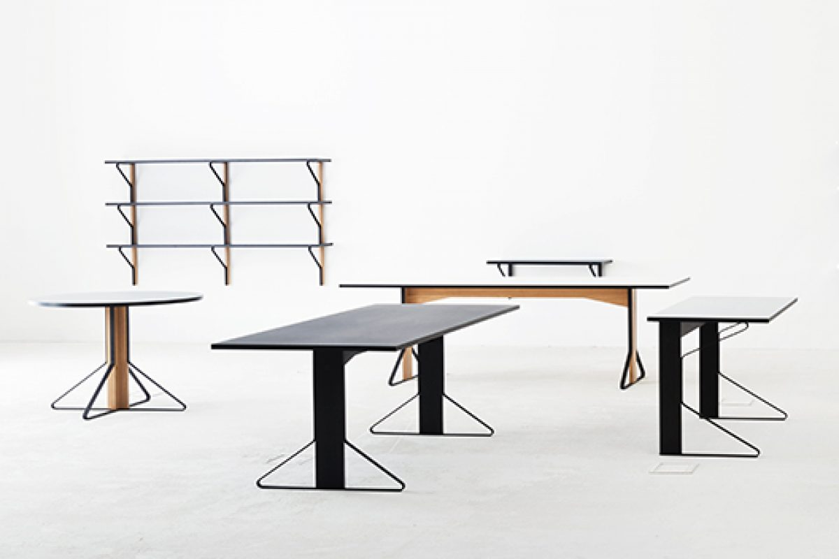 Ronan & Erwan Bouroullec designed the Kaari collection in the first collaboration with Finnish company Artek