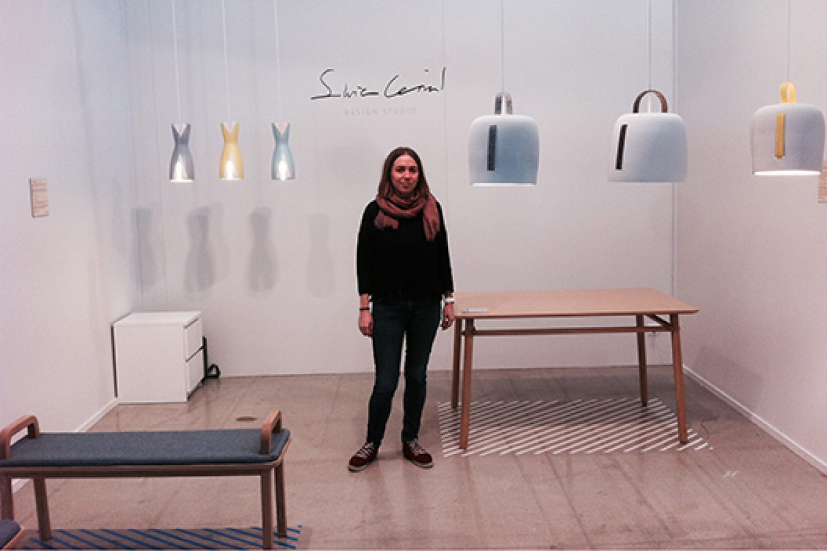 Silvia Ceñal, a designer with Nordic airs and warm soul, in the nude Show