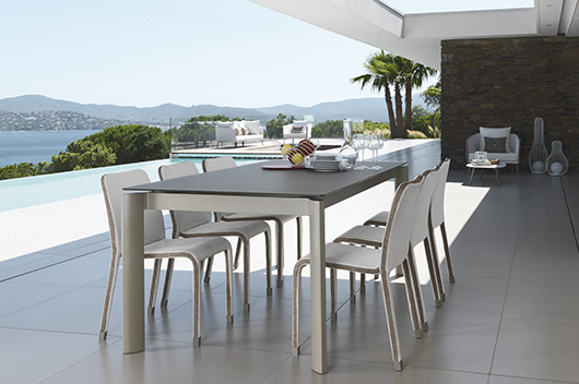 Outdoor Furniture Collection Milo Designed By Marco Acerbis The