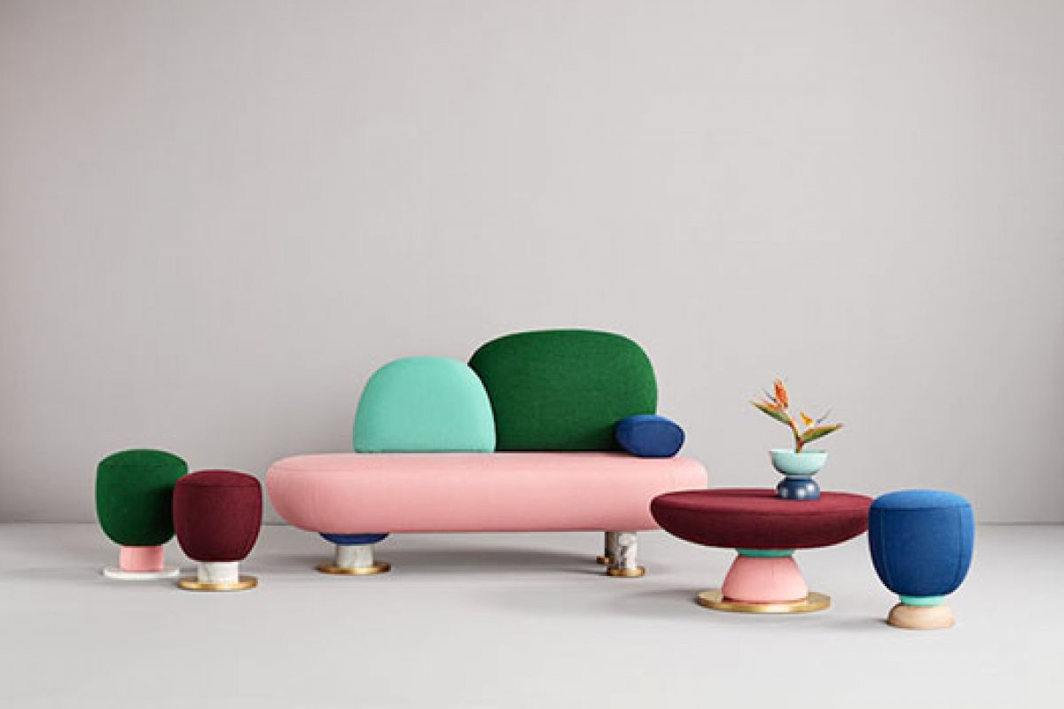 Toadstool of Missana, the new collection designed by Masquespacio inspired by visual culture