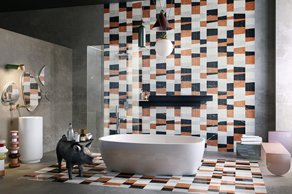 Salone Internazionale del Bagno 2016 preview: New models of the Opus revolutionary collection of coverings by Lithos Design