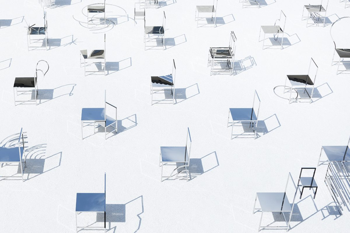 #MilanDesignWeek: 50 manga chairs exhibition by nendo for Friedman Benda