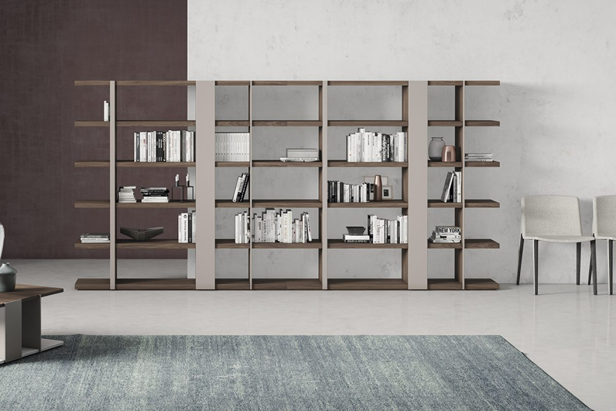 Mobenia presents in Milan the Code Shelving & Coffee tables designed by Mario Ruiz