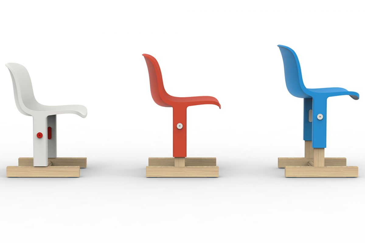 Little Big, chair for the young ones designed by Big-Game for Magis Me Too