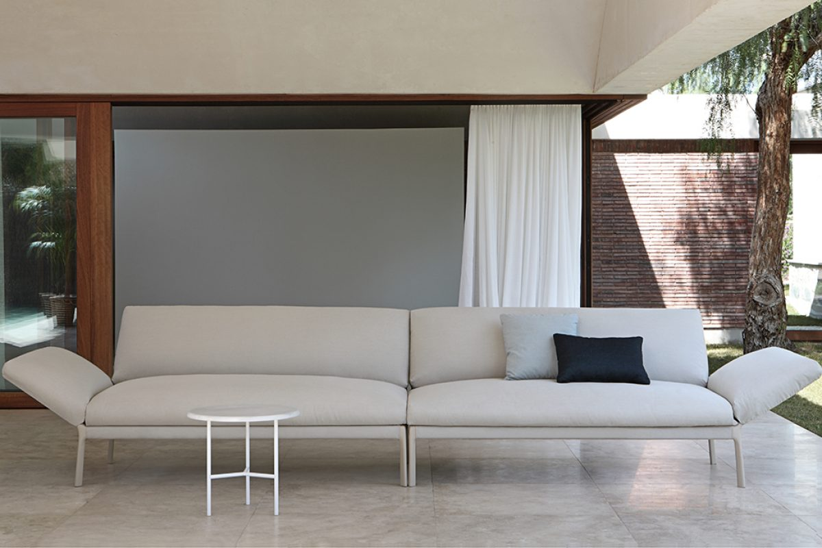 Lievore Altherr Molina designed the latest Expormim, unconditional love for life outdoors