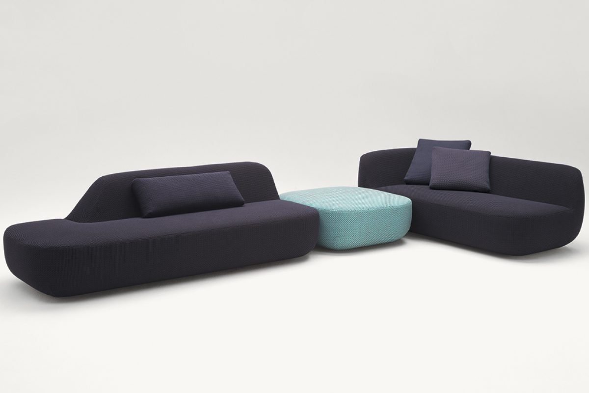 #Milan2016: Uptown, indoor sectional sofa by Francesco Rota for Paola Lenti