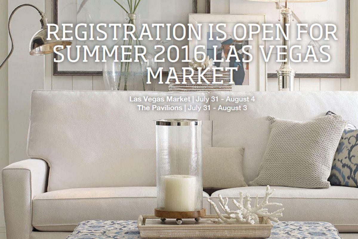 Las Vegas Market opens online registration for Summer 2016 Market