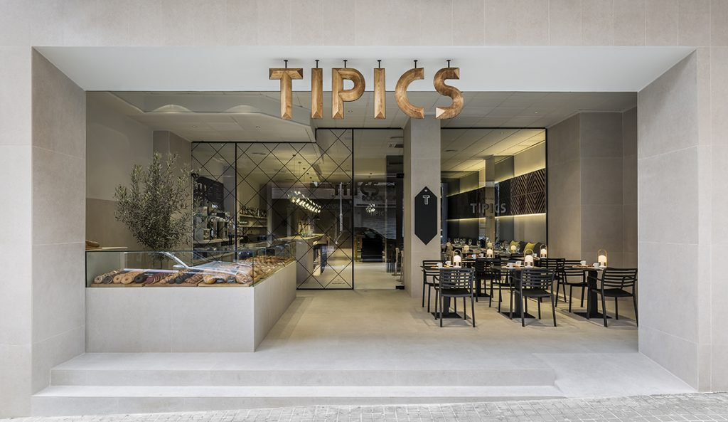 tipics, the new-look restaurant in xativa (valencia) designed