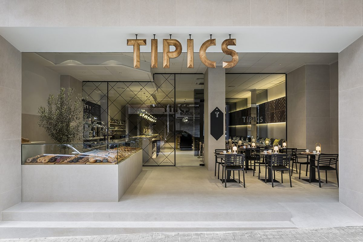Tipics, the new-look restaurant in Xativa (Valencia) designed by estudiHac