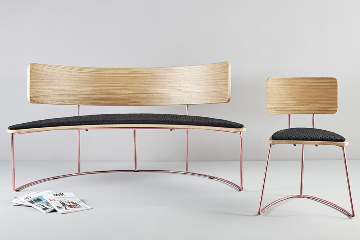 Boomerang by Cardeoli for Missana. Sophistication inspired by urban architecture