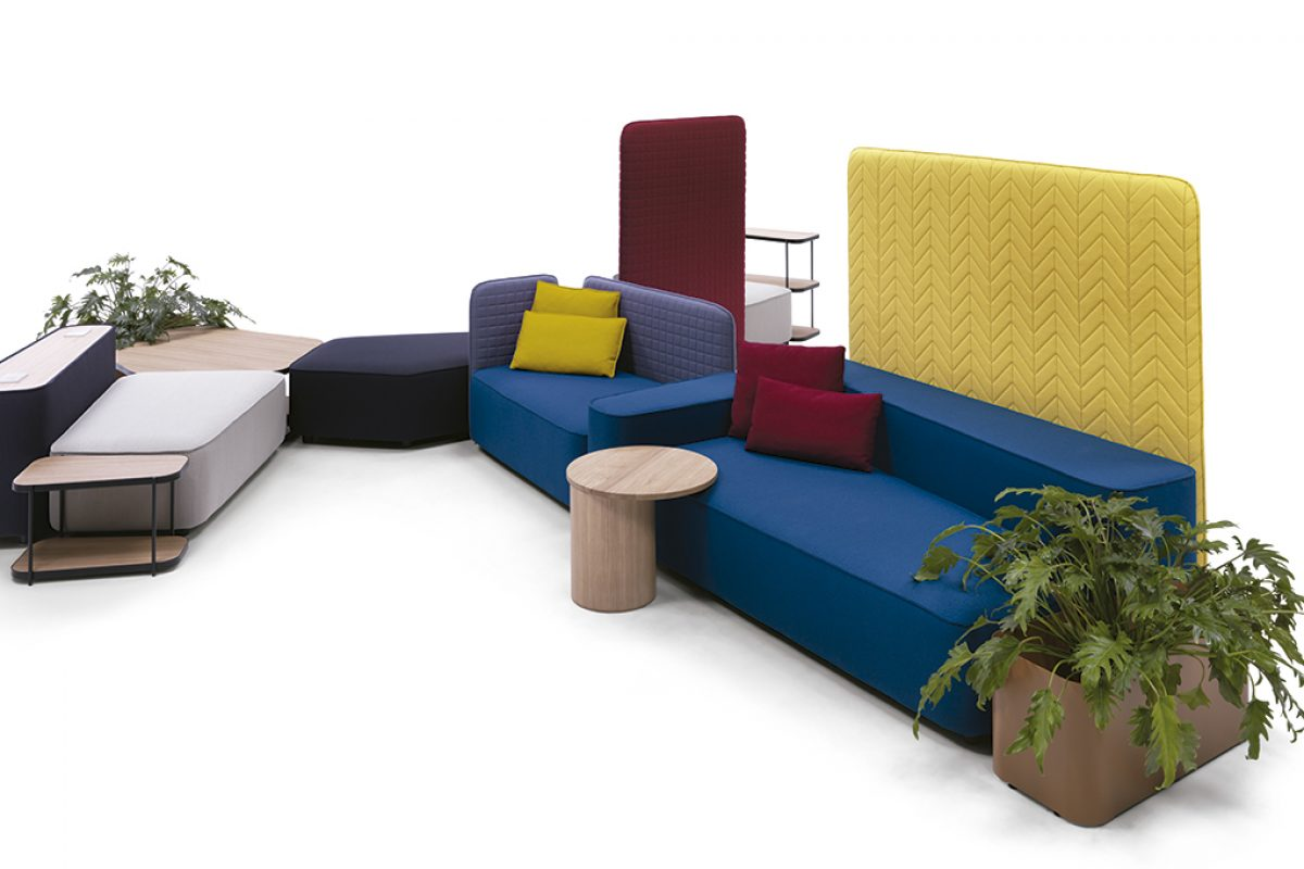 Lofoten, modular upholstered system by Luca Nichetto for Casamania
